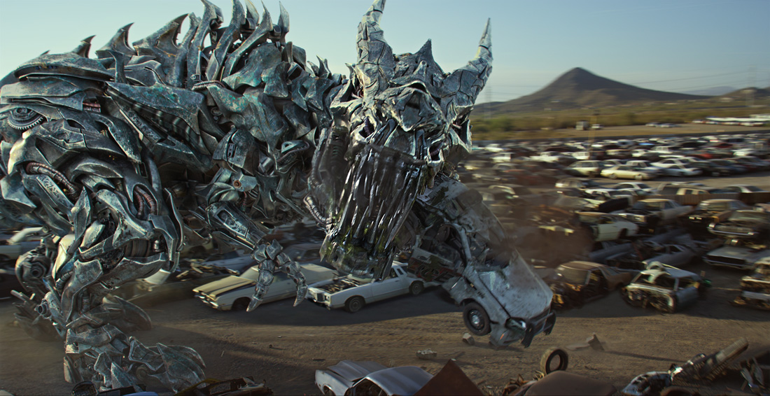 Grimlock in TRANSFORMERS: THE LAST KNIGHT, from Paramount Pictures.