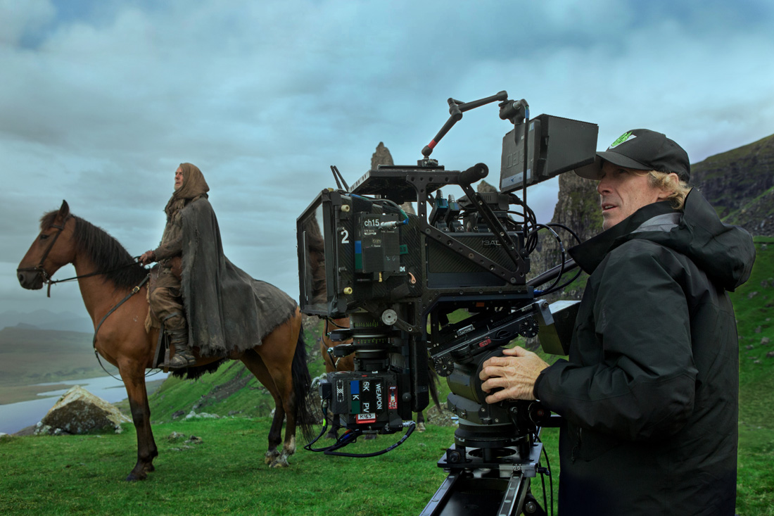 Director/Executive Producer Michael Bay on the set of TRANSFORMERS: THE LAST KNIGHT, from Paramount Pictures.